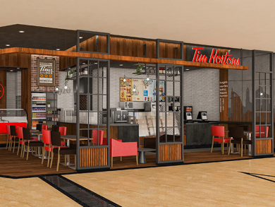 New Tim Hortons opens in Mall of the Emirates