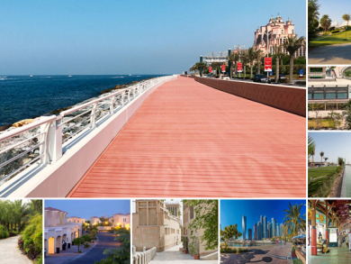 Best places to walk in Dubai