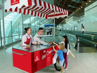 Free ice cream all summer at Dubai International Airport