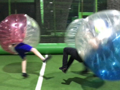 Win a bubble soccer experience for six people