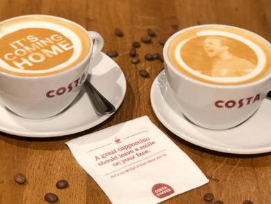 Costa Coffee UAE now offering World Cup lattes