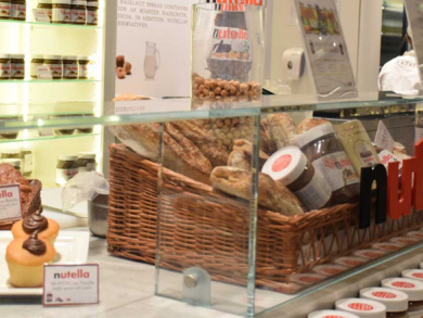 Nutella Café opening at Dubai International Airport