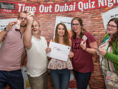 Time Out Dubai's Big Quiz is back – book your table now