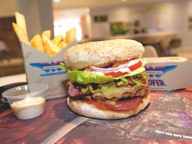 100 free burgers today at BurgerFuel Dubai