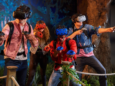 Get half-price VR Park tickets when you go to Reel Cinemas