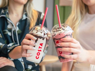 Free manicures with your coffee at Costa in Dubai