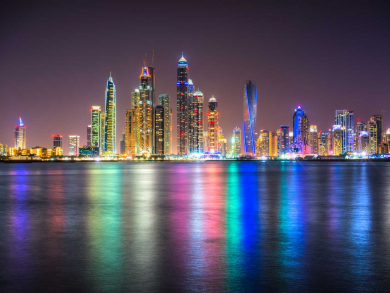 Dry night in Dubai for Eid al-Adha today