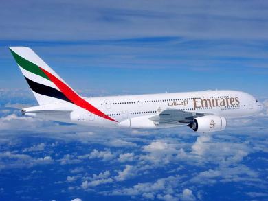Get cheap flights to Edinburgh with Emirates