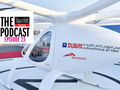 Dubai flying taxis, brain hackers and a museum you just won't believe