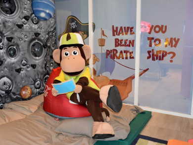 Hilton's new mascot to welcome kids on staycation