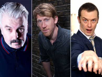 Laughter Factory's October line-up features German stand-up and Fringe favourite