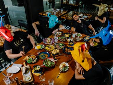 Spend Saturdays lazing and grazing at Graze Gastro Grill