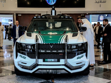Dubai Police reveal epic new Beast Patrol vehicle