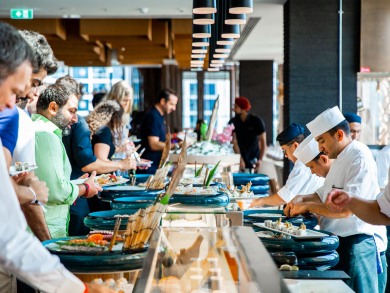 Morimoto Dubai's new Friday brunch is the ultimate place to party