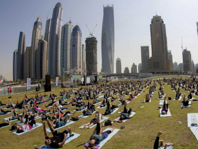 Free two-day Yogafest Dubai is back