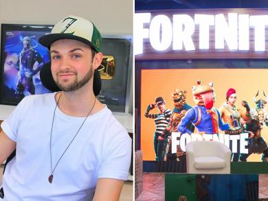 British YouTube star Ali A on the huge Fortnite scene in Dubai