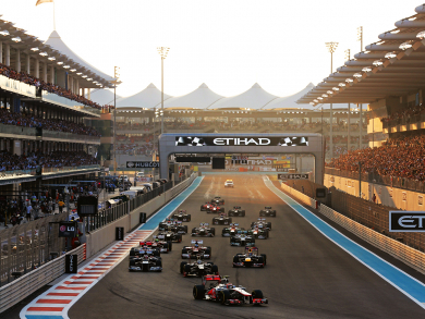 What time is the Abu Dhabi F1 Grand Prix 2018?