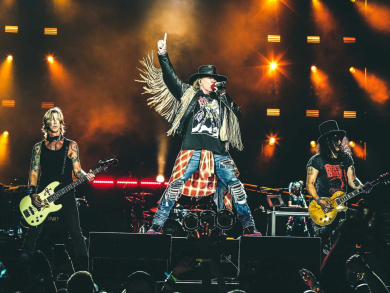 Guns N' Roses at the Abu Dhabi F1 Grand Prix: What you need to know