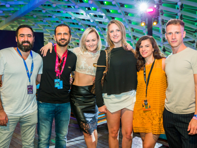 In pictures: W pop-up at Yas Hotel