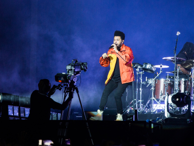 In pictures: The Weeknd at du Arena