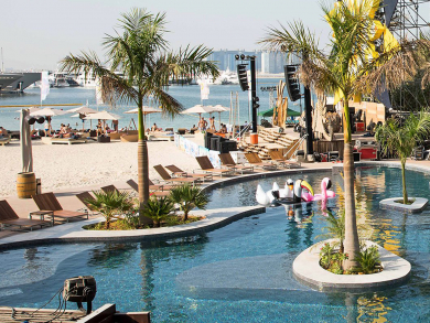 Best beach bar in Dubai 2018