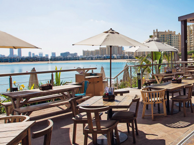 Best outdoor bar/pub in Dubai 2018