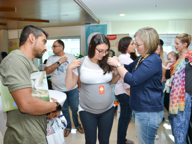 Free movie night for pregnant mums in Dubai