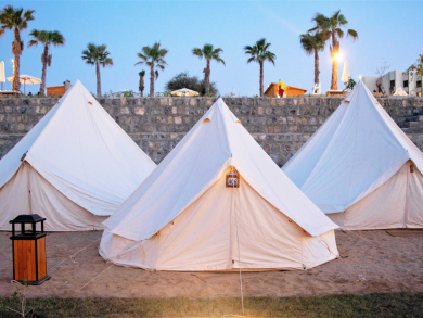 The UAE's secret luxury retreat with bubble tents and an outdoor spa