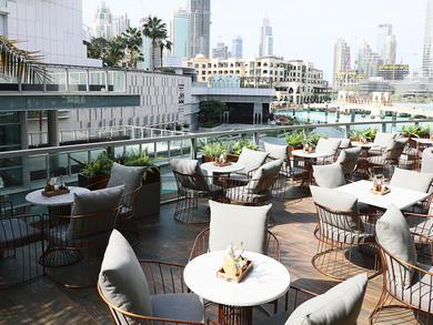 Best fountain view restaurants in Dubai Mall 2019