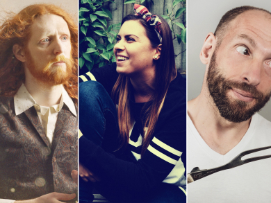 The Laughter Factory reveals stellar March comedy line-up