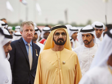 Sheikh Mohammed publishes Dubai World Cup poem