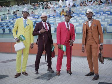 Dubai World Cup 2019: best dressed men – pictures