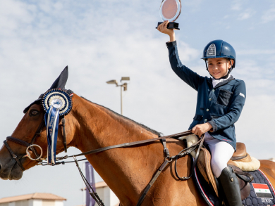 Meet the UAE's youngest show jumpers