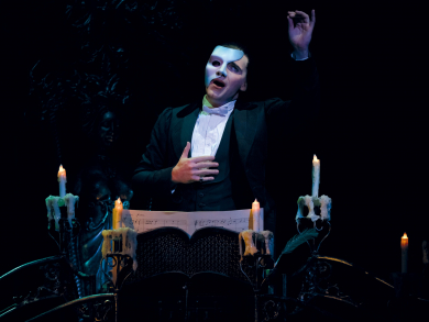 Behind the mask: Dubai's first-ever Phantom of the Opera reveals why the show will be better than ever