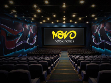 Get three for two on cinema tickets at Novo Cinemas this summer