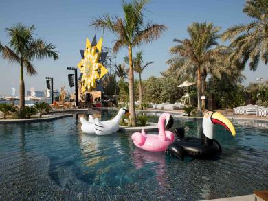 Summer deal 2019: Pool day at Barasti