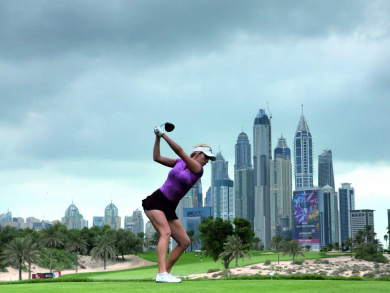 Summer deal 2019: Night golf and meal deal Emirates Golf Club