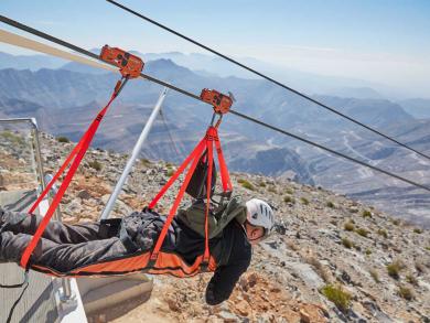 Summer deal 2019: Half price ziplining at Jebel Jais