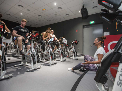 Free ride at CycleBar with a chance to win tickets to a live cooking show