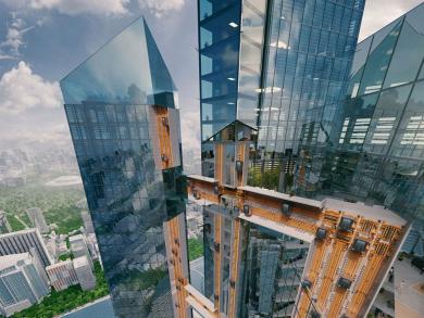 Sneak peek: Expo 2020 to reveal world's first ropeless elevators