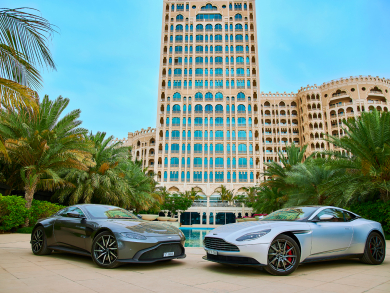 Stay and drive with Waldorf Astoria's Aston Martin weekend