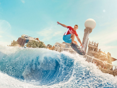 Get four for three on entry to Yas Island's theme parks this weekend