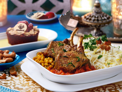 Emirates will serve special Eid al-Adha meals on flights this weekend
