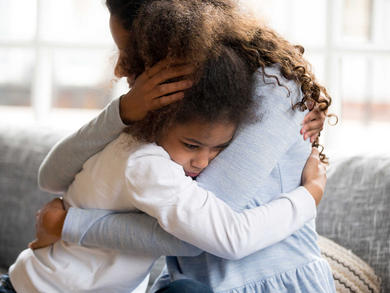 Supporting an anxious child