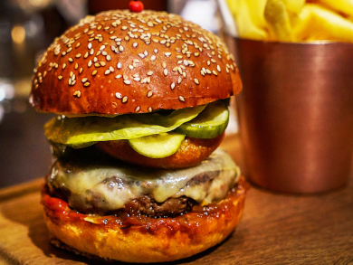 Five posh Knockout Burgers to try