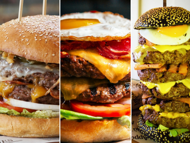 Seriously big burgers you have to try in Abu Dhabi