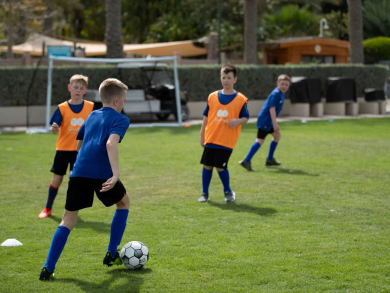 Sign up for a football course with super striker Michael Owen at Jumeirah Beach Hotel
