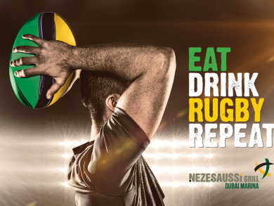 Elevate your Rugby World Cup fan experience at Dubai Marina's Nezesaussi Grill