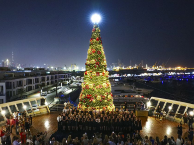 Huge Christmas wonderland coming to QE2 in Dubai