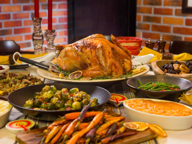 Christmas and Thanksgiving takeaway turkeys ready to order from Couqley